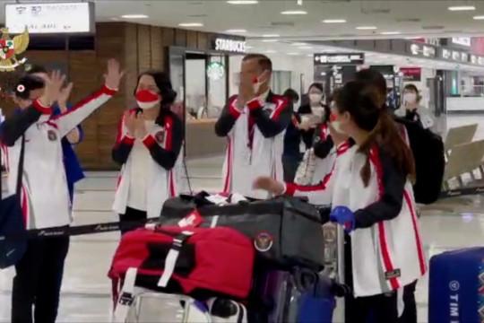 Dubes RI untuk Jepang sambut 13 atlet Indonesia di Bandara Narita