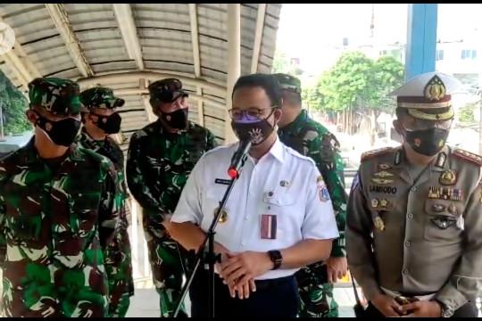 Gubernur Anies imbau masyarakatpatuhi aturan PPKM Darurat