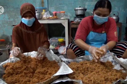 Jasa pembuatan abon dari daging kurban kebanjiran pesanan
