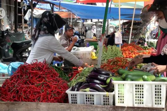 Kebutuhan pangan di Palangka Raya alami kenaikan wajar