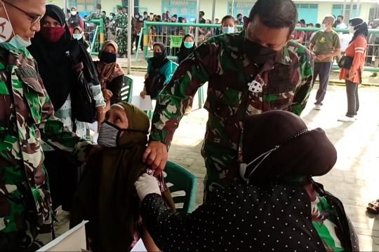 Kodim 0413 Bangka salurkan 7.300 vaksin tahap tiga