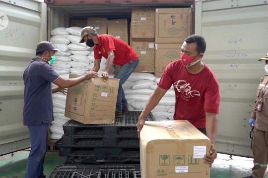 Nilai ekspor Sumut meningkat 43,3 persen di masa pandemi