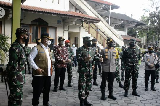Panglima TNI tinjau tempat isolasi terpusat di Sleman
