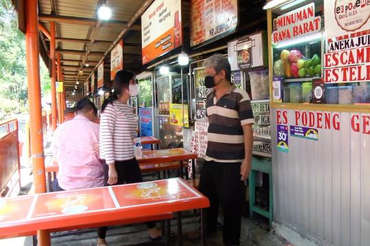 Pedagang warung makan sambut baik penyesuaian PPKM