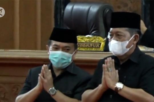 Pemprov Jambi masih tunggu jadwal pelantikan gubernur dan wagub terpilih