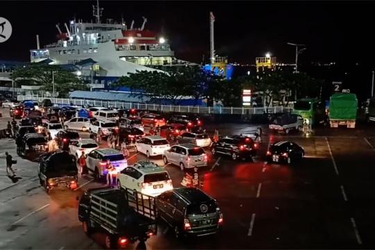 Polda Banten akan vaksinasi sopir angkutan logistik di atas feri