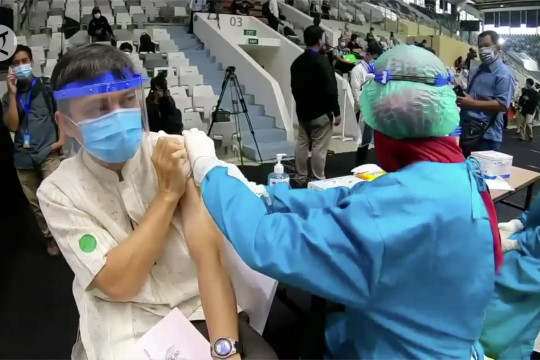 Satgas: Dua dosis vaksin cukup membentuk kekebalan individu