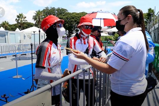 Panahan beregu Indonesia lolos perempat final Olimpiade