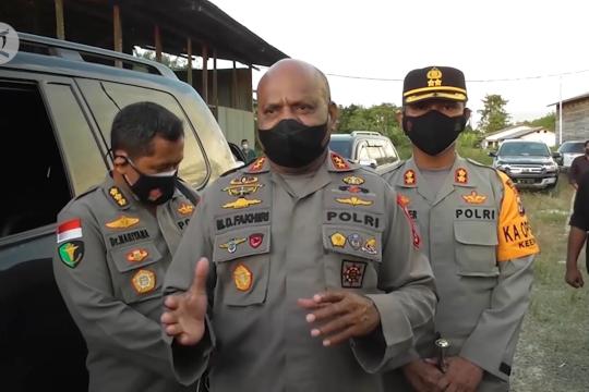 Pastikan pasokan terpenuhi, Kapolda Papua tinjau pabrik oksigen