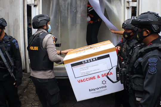 Stok vaksin COVID-19 di Kalbar menipis