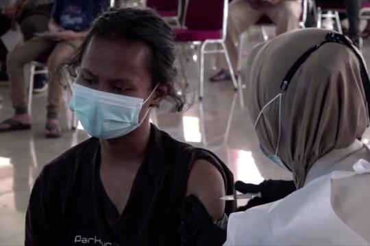 Pemerintah optimis bisa tingkatkan dosis vaksin harian