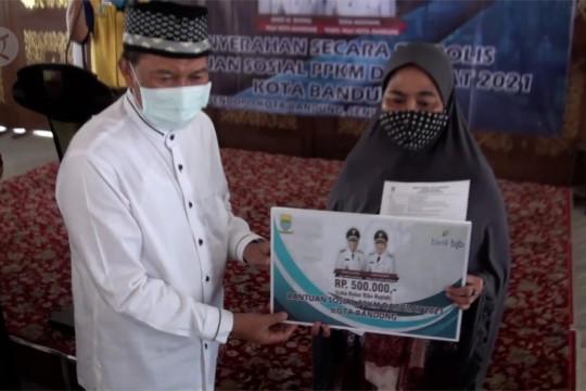 Pemkot Bandung salurkan bansos PPKM Darurat senilai Rp 30 M