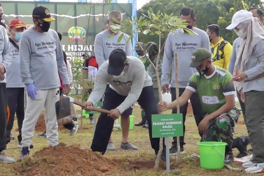 Perbaiki kualitas lingkungan, Kalsel tanam 470 ribu bibit pohon