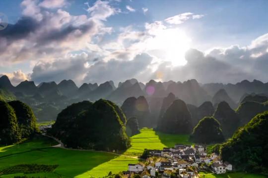Pesona Guizhou dari udara dalam 60 detik