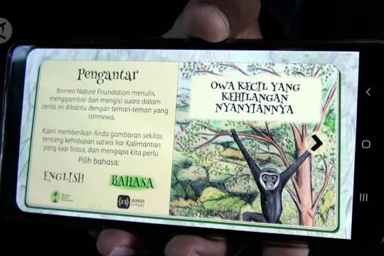 Petualangan Owa Kalimantan hadir di buku cerita digital