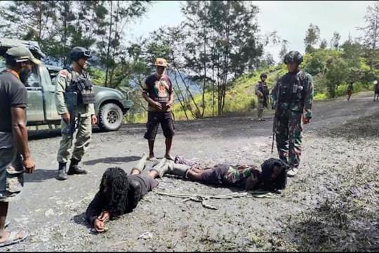 Polda Papua selidiki peran 5 anggota KKB yang ditangkap di Sinak