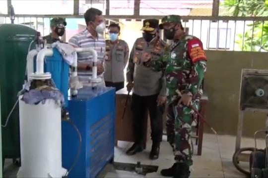 Pangdam XVIII Kasuari dorong produksi oksigen Manokwari penuhi kebutuhan RS