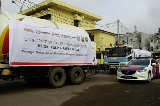 Pemprov Sumsel salurkan 30 ton oksigen melalui program CSR