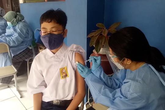 Dinkes Tangerang sasar vaksinasi ke 167.420 pelajar