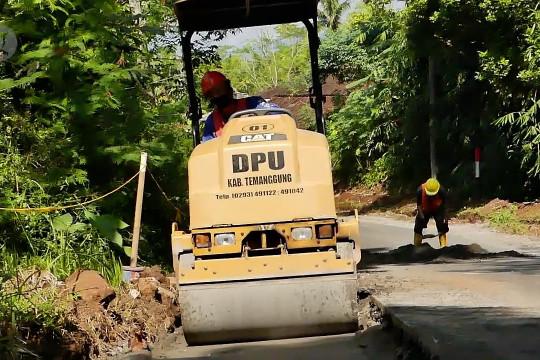 DPUPKP Temanggung genjot pembangunan jalan untuk pertumbuhan ekonomi