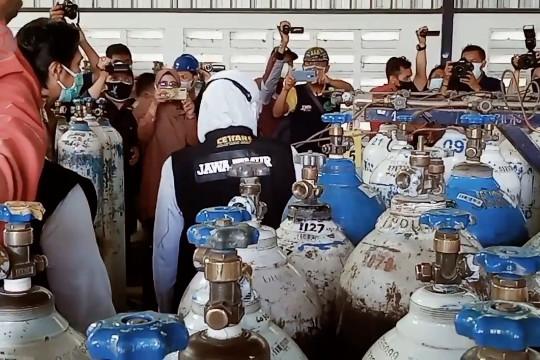 Gubernur Jatim jamin ketersediaan oksigen mencukupi