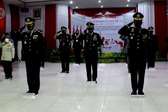 HUT ke-75 Polri, Polresta Pontianak pertegas tindakan hukum