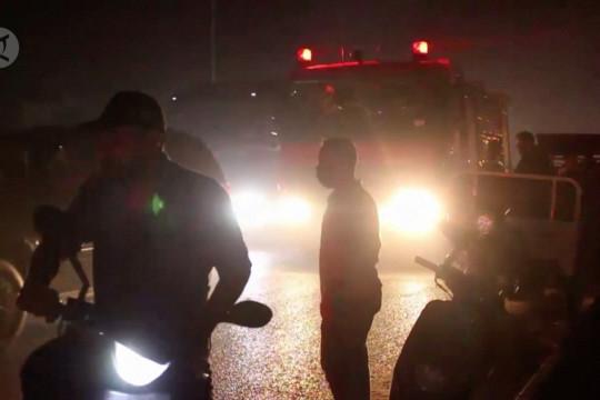 Kebakaran besar tewaskan sedikitnya 58 orang di RS COVID-19 Irak