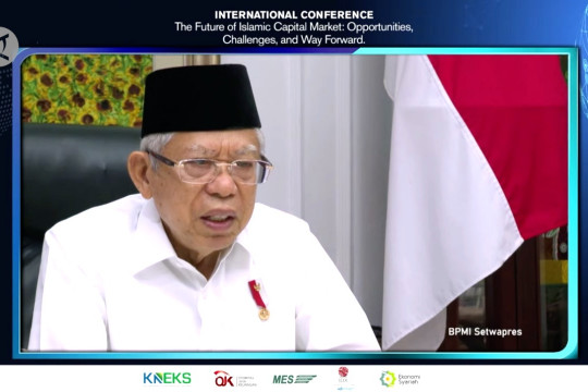 Wapres dorong peningkatan literasi pasar modal syariah