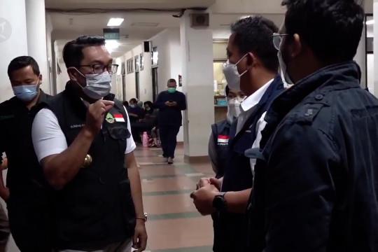 Evaluasi PPKM Darurat Jabar, BOR rumah sakit menurun