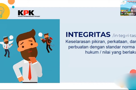 KPK dan Kemen PPPA dorong pembentukan integritas anak