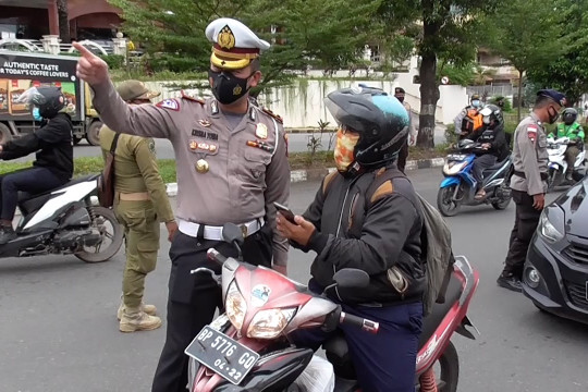 PPKM Darurat Batam, belasan ribu kendaraan diputar balik