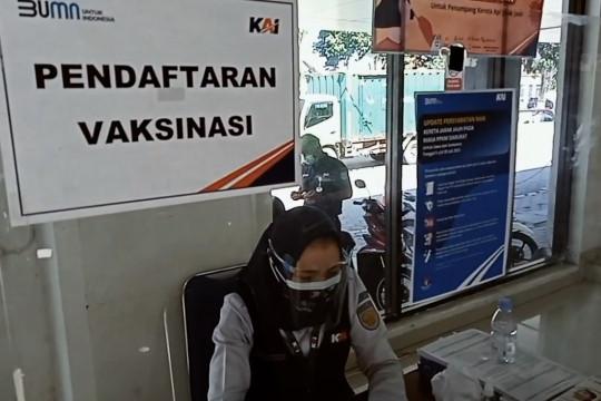 Stasiun Madiun layani vaksinasi bagi calon penumpang