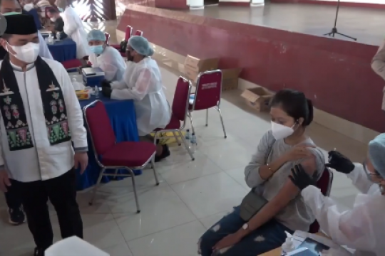 Wagub DKI: BEM Nusantara bantu target vaksinasi 7,5 juta orang