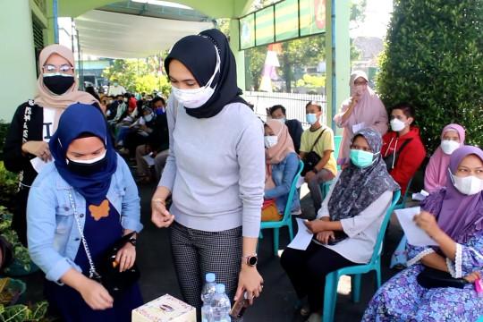 Warga Temanggung serbu vaksin di Kodim 0706