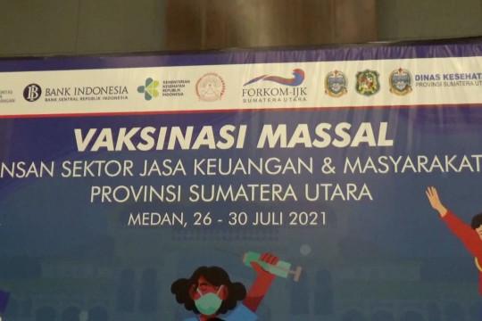 1.500 karyawan perbankan di Medan ikut vaksinasi COVID-19