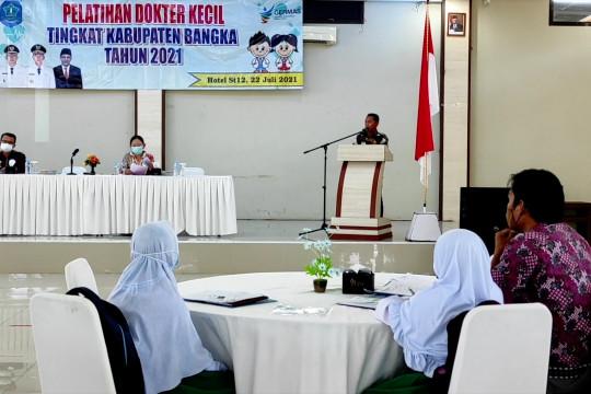 24 siswa SD di Bangka ikuti pelatihan dokter kecil