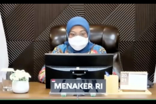 Menaker dorong perusahaan bentuk P2K3 saat pandemi