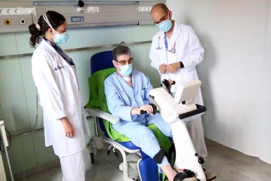 Rumah sakit di Barcelona sukses cangkok paru pasien COVID-19