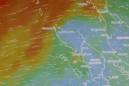 BMKG ingatkan cuaca ekstrem di barat selatan Aceh