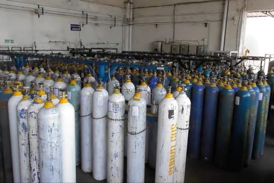 Distributor oksigen industri alihkan produksi ke sektor medis
