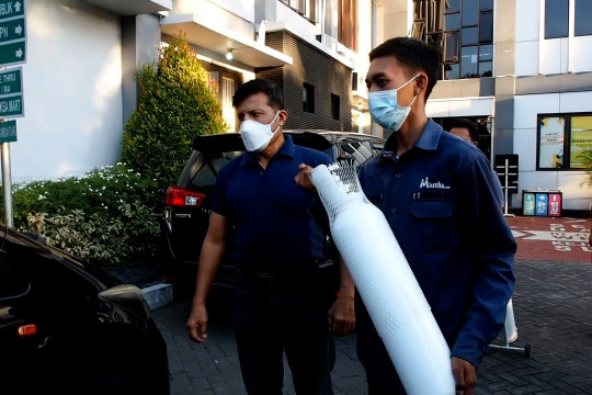 Kejari Surabaya tangkap penjual tabung oksigen Rp4,5 juta
