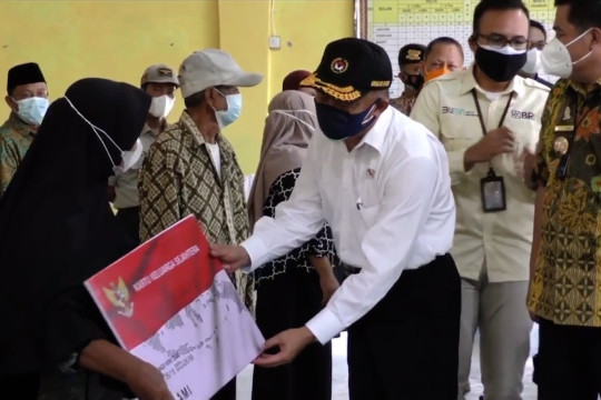 Menko PMK: penyaluran Bansos di Lampung Tengah berjalan baik