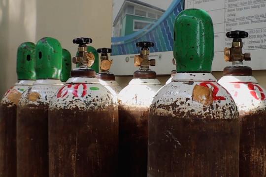 Penimbun oksigen terancam pidana 12 tahun dan denda Rp50 miliar