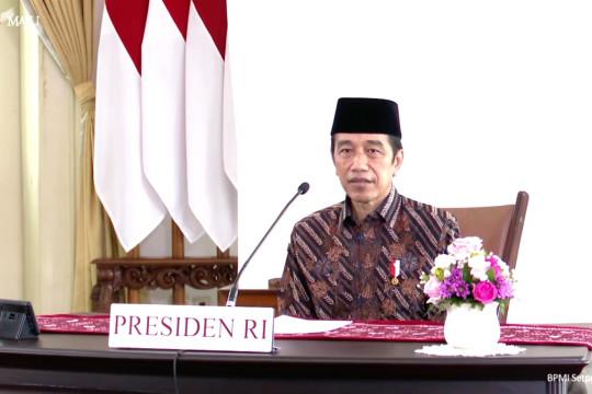 Presiden ajak masyarakat berdoa dari rumah agar pandemi segera berakhir