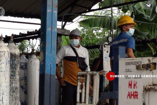 Menko PMK cek ketersediaan oksigen di Provinsi Lampung
