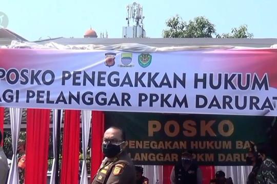Polda Jabar siagakan 106 titik penyekatan PPKM darurat