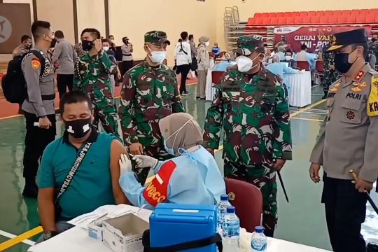 Target vaksinasi Banten bertambah menjadi 9,2 juta penerima