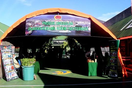 Kodim 1501 Ternate ikut lomba produk unggulan tingkat nasional