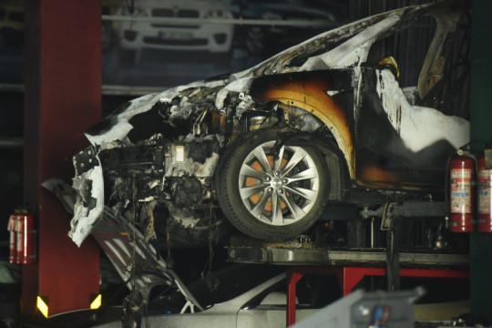 Baterai Tesla Megapack terbakar di Australia saat pengujian