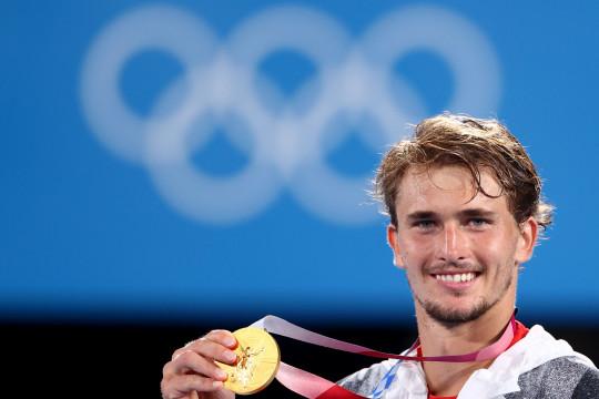 Zverev bawa pulang emas tunggal putra tenis Olimpiade